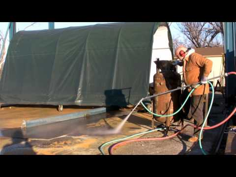 Big DIY SandBlaster - Part 2 of 2