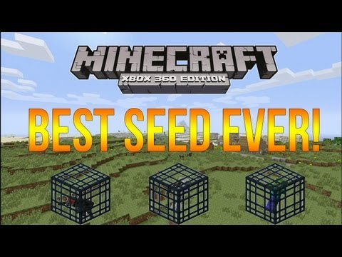 Xbox 360 Minecraft- Seed Spotlight Episode 5: BEST SEED EVER!