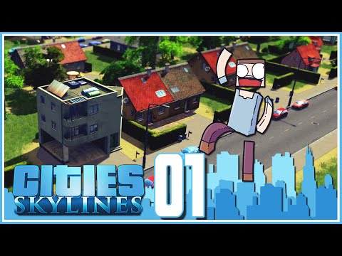 Cities Skylines - Ep.01 : The First City!