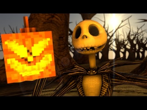 NIGHTMARE BEFORE CHRISTMAS Minecraft Animation (Whats this Parody)