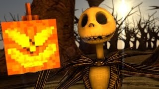 NIGHTMARE BEFORE CHRISTMAS [Minecraft Animation] (Whats this Parody) Jack Skellington