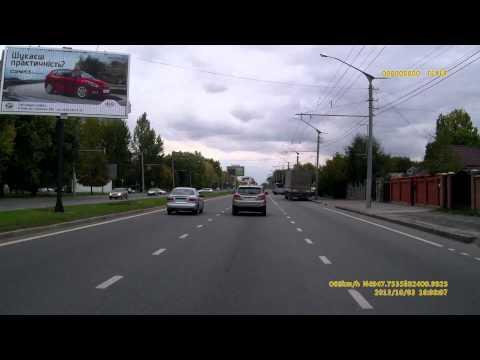 ДТП у місті Львів 03.10.13