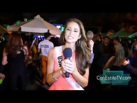 Miss USA Nia Sanchez - Miss Universe 2015