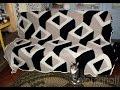 """Вяжем вместе плед """"3D Стильная геометрия №1"""" ч.2"""