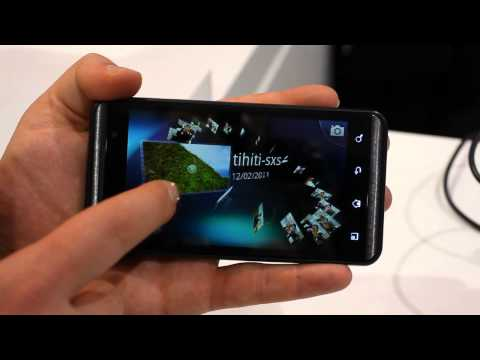 LG Optimus 3D hands-on [MWC2011]