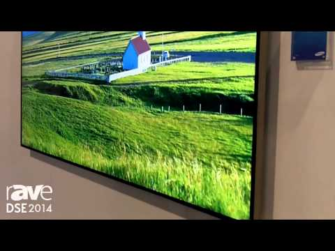DSE 2014: Samsung Demos the 85in UHD Commercial Display