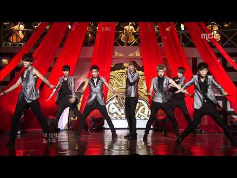 Infinite - Be Mine(Remix), 인피니트 - 내꺼하자(리믹스), Music Core 20110903