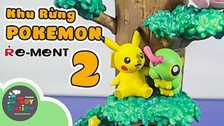 Khu Rừng Pokemon Forest 2 từ Re Ment ToyStation 313