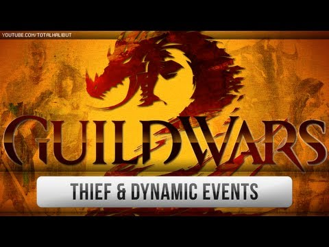 ► Guild Wars - GW2 Beta - Thief Gameplay & Dynamic Events
