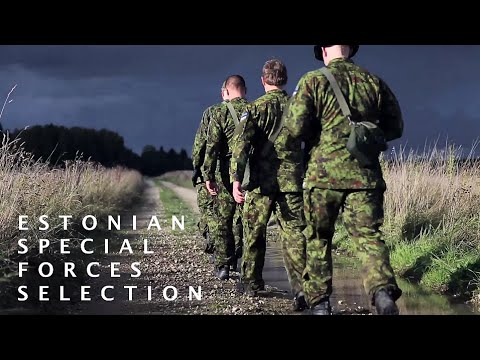 Estonian special forces selection