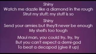 Moana - Jemaine Clement - Shiny (Lyrics)