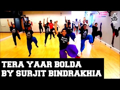 BPD Back2Basics Bhangra Classes - Tera Yaar Bolda by Surjit Bindrakhia