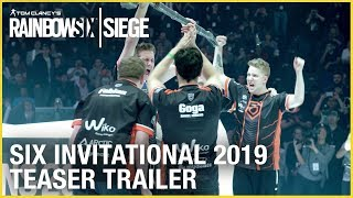 Rainbow Six Siege: Six Invitational 2019 Teaser Trailer | Ubisoft [NA]