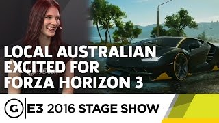 Forza Horizon 3 Impressions - E3 2016 Stage Show