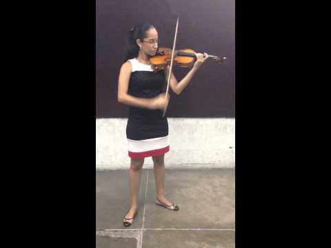 Pamela Muñoz- Violín- YOA-OF Audición 2015