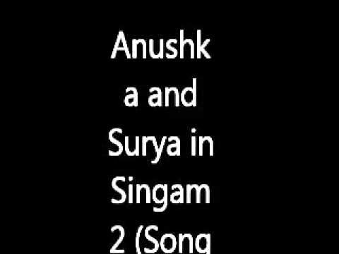 Anushka And Surya In Singam 2 (song Making) | Haniska, Santhanam | Shooting Spot | Kiss, Hot video