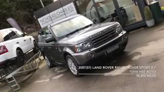 2007(57) Land Rover Range Rover Sport 2.7 TDV6 HSE Auto