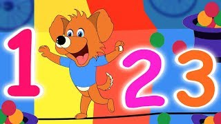 Learn Numbers With Animals | Kindergarten Songs by Kids Baby Club