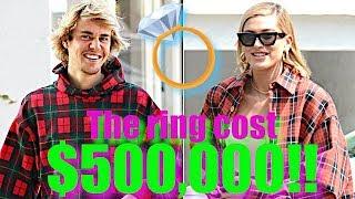 Justin Bieber Drops $500k On Fiancee Hailey Baldwin