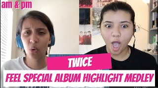 TWICE 'Feel Special' Album Highlight Medley REACTION!!!