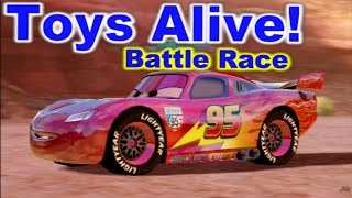 Cars 2: The video Game - Lightning McQueen - Canyon Run Battle Race