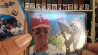 More rummaging thru boxes of baseball cards for my 1300 subscribers giveaway