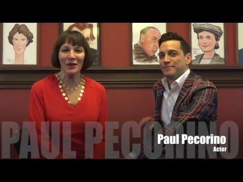 Headline: Class Notes: Actor, Paul Pecorino