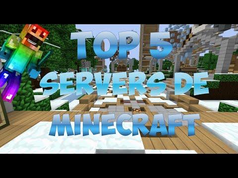 Top 5 De Los Mejores Servers De Minecraft | No Premium | 1.7.2 - 1.8 | 2015 [HD]