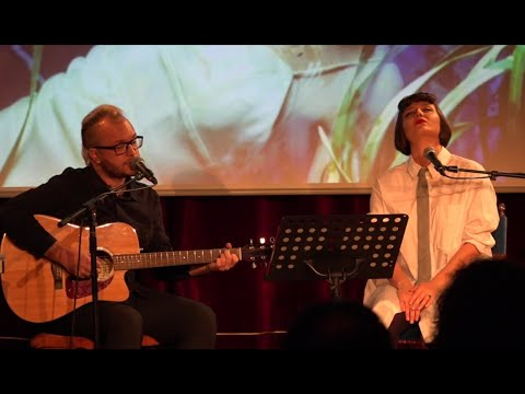 Where the wild roses grow // Giouli Asimakopoulou - Panos Gourgiotis (LIVE in Luxembourg)