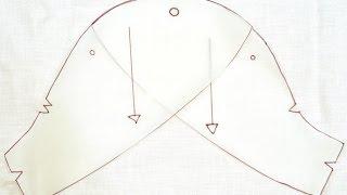 Cách cắt ống tay loa rời (cánh hồng)_How to cut petal sleeve