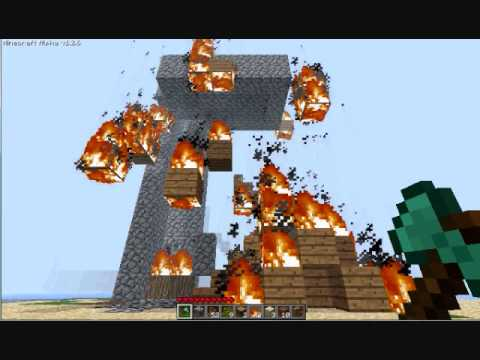 put out camping fires  in minecraft or this will happen