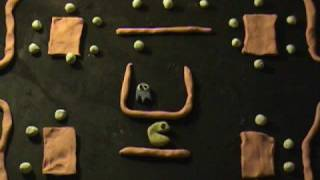 classic computer games (stop motion)