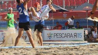 Mediterranean Beach Games: Italia maschile al 5° posto