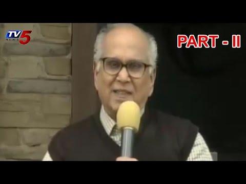 ANR 91st Jayanthi | ANR Last Press Meet | Part 2 : TV5 News
