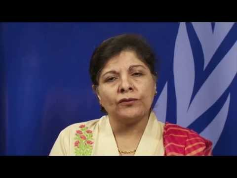 Dr. Shamshad Akhtar, Executive Secretary of ESCAP on ESCAP's regional statistical programmes