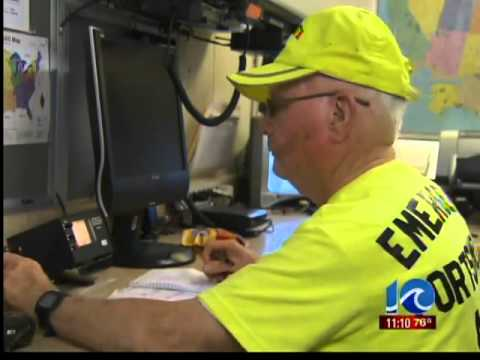 Amateur radio operators hold event