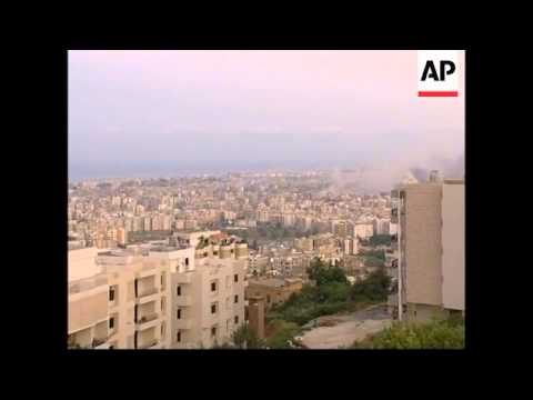 WRAP Israeli jets bomb nr Syrian border, shelling in Tyre, other towns