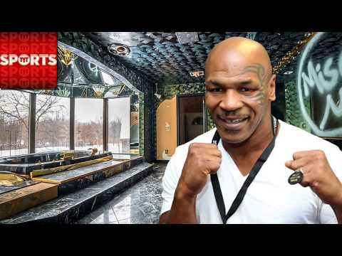 ABANDONED MIKE TYSON MANSION ( Found tiger cages )