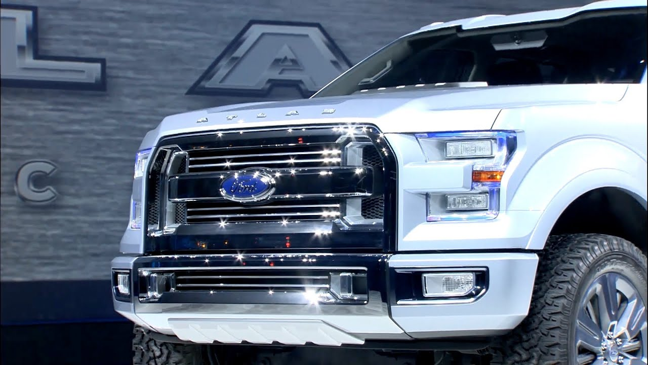 Ford Atlas Concept reveal - The future F-150 - YouTube