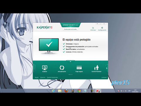 como activar kaspersky internet security 2013 ( Bien Explicado)