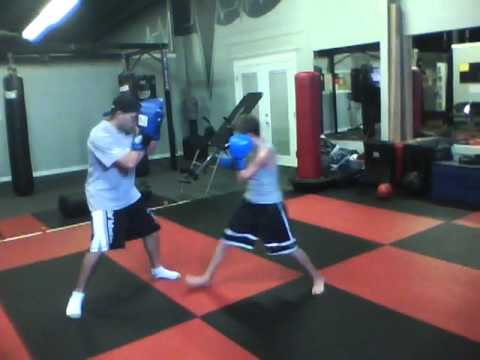 Youth MMA:  Pad Training Image 1