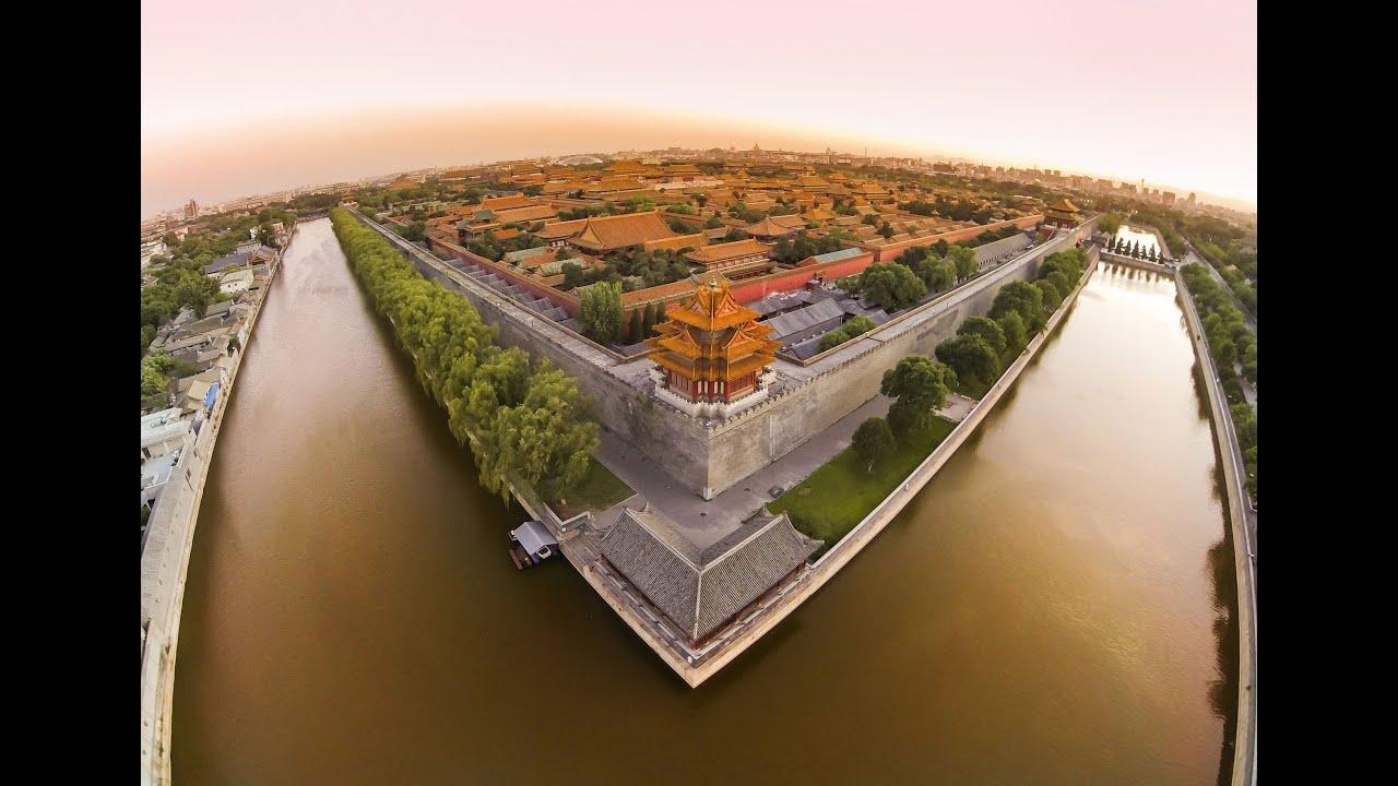Pékin depuis un drone
