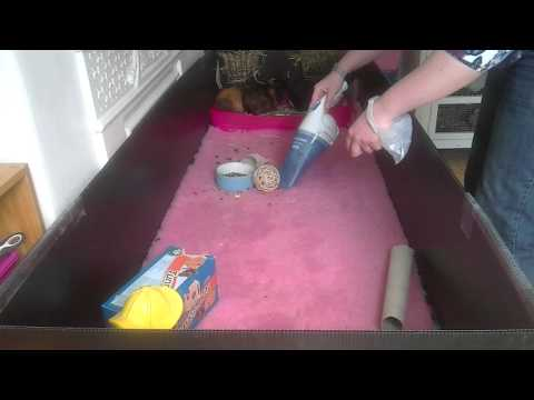Piggy bedspreads washable reusable bedding for your for How to make a guinea pig bed