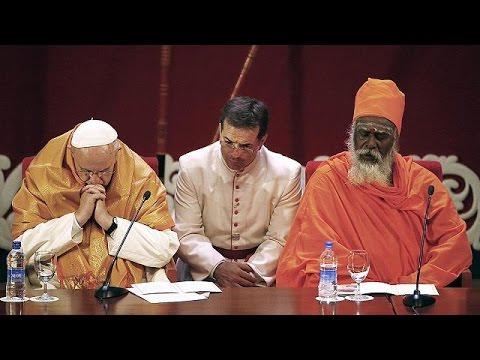 البابا فرانسيس يدعو من سيريلنكا بعدم جعل المعتقدات الدينية سببا للعنف والحرب