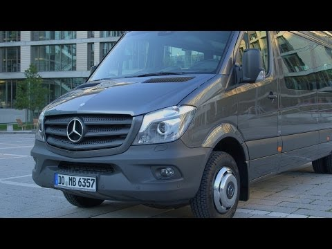 2014 Mercedes Sprinter Transfer 45 - DESIGN - Exterior / Interior