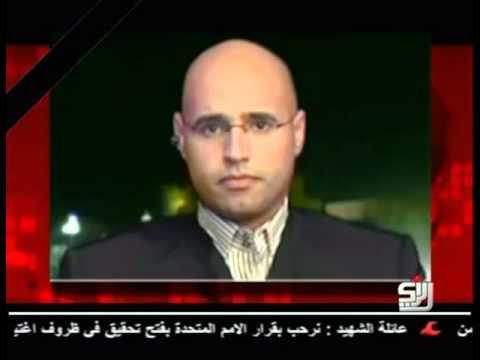 Libya: 23.10.2011, Saif al-Islam Gaddafi: