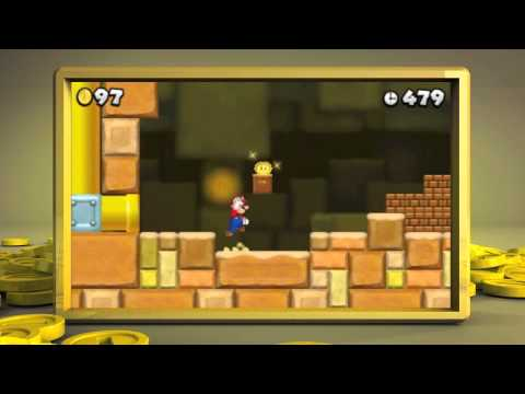 New Super Mario Bros 2 Walkthrough - E3 Trailer Nintendo 3DS