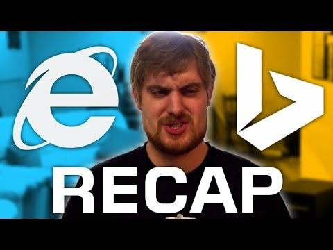I used Internet Explorer and Bing for 28 days