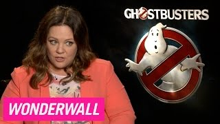 Melissa McCarthy chats female reboots, women comedy icons