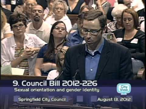 OFFICIAL Preacher Phil Snider gives interesting gay rights speech